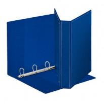 Raccoglitore DISPLAY MAXI 22x30cm 4D H30mm blu personalizzabile ESSELTE 394756500