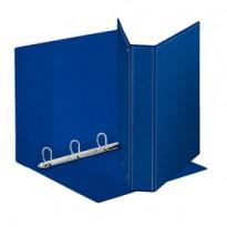 Raccoglitore DISPLAY MAXI 22x30cm 4D H40mm blu personalizzabile ESSELTE 394753500