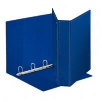 Raccoglitore DISPLAY MAXI 22x30cm 4D H50mm blu personalizzabile ESSELTE 394754500