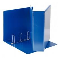 Raccoglitore DISPLAY MAXI 22x30cm 4Q H65mm blu personalizzabile ESSELTE 394758500