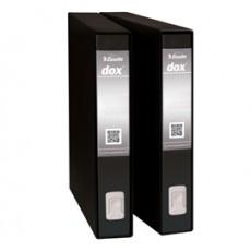 Registratore Dox 5 nero dorso 5cm f.to protocollo Esselte D26510