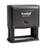 Timbro Original Printy 4931 70x30mm 7righe autoinch. personalizzabile TRODAT 45196