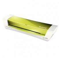 PLASTIFICATRICE iLAM HomeOffice A4 Verde Metal LEITZ 73680054