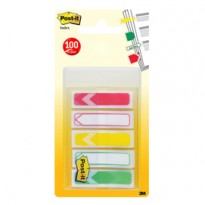 SET 100 Post-it Index 684-ARR-RYG-EU FORMATO MINI FRECCIA 684-ARR-RYG-EU