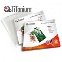 25 POUCHES 594x428mm (A2) 125my TiTanium PP