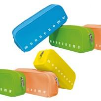 Bustina silicone Soft Touch 80x200x60mm colori assortiti fluo Monocromo Pigna 022804800 - Conf da 12 pz.