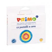 ASTUCCIO 12 PASTELLI A CERA JUMBO 10,5mm 100mm PRIMO 051PC12I