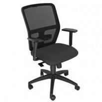 Seduta operativa ergonomica Kemper A Nero c/bracc.reg. KMA/BR2D/EN