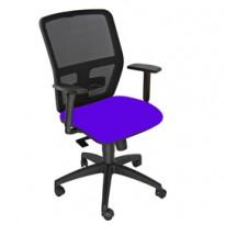 Seduta operativa ergonomica Kemper A Blu c/bracc.reg. KMA/EB