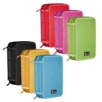 Astuccio 3 zip Colors 13x20x7.5cm colori assortiti RiPlast 698300 - Conf da 12 pz.