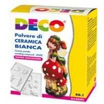 Polvere di ceramica bianca 1kg DECO 05695