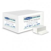 Pacco da 210 asciugamani piegati a V goffrato micro Comfort BulkySoft 84550 - Conf da 15 pz.