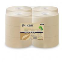Carta igienica MINI Jumbo 19,5cm - 150mt EcoNatural Lucart 812152P - Conf da 12 pz.