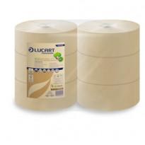 Carta igienica MAXI Jumbo 24,5cm - 300mt EcoNatural Lucart 812140AP - Conf da 6 pz.