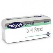 Pacco 10 rotoli Carta Igienica 145 strappi Comfort BulkySoft 66600