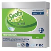 Fustino 100 Tabs 20g 3in1 Eco per lavastoviglie Svelto 101101881