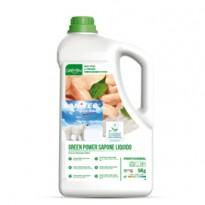 Sapone liquido tanica 5Lt Green Power Sanitec 4006