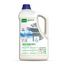 Detergente piatti tanica 5Lt Green Power Sanitec 3104