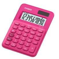 Calcolatrice da tavolo MS-7UC fucsia big display 10 cifre CASIO MS-7UC-RD