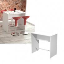 Tavolo alto 110x70xH105cm Bianco Ristoro 15092/B-3