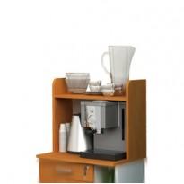 Sopralzo per Mobile Punto CaffE 59,8x24xH50cm Bicolore - Angolo Ristoro 2872.3/34