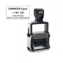 Timbro Professional 4.0 5460 DATARIO 56x33mm personaliz autoinch. TRODAT 120362