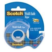 Nastro adesivo Scotch Wall-safe 19mmX16,5mt in chiocciola 183-ISP 36518