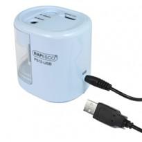 Temperamatite elettrico a 2 fori bianco Rapesco 1448