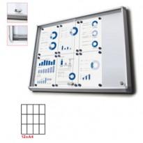 Bacheca interni Magnetica 12XA4 ante scorrevoli Jansen SCSL12xA4