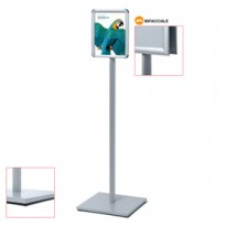 Display Catching Pole Standard A4 Bifacciale CAPOA4R25D