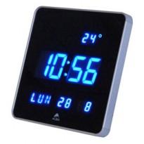 Orologio digitale da parete 28x28x3,4cm Led Alba HORLEDSQ