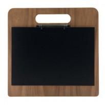 Porta menU Chopping Board in legno con anelli 32,7x30cm Securit MC-WALA4-CH