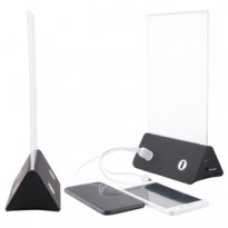 Display Porta MenU A5 con PowerBank Securit PFT-PWB
