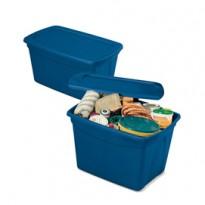 Contenitore multiuso ToteBox 61,3x47x40cm Blu Terry 1002783