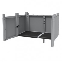 Transforming Extension Kit 78x43,6xH41,4cm per Armadi Modular Terry 1002907