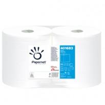 Bobina asciugatutto goffrato Wave 500 strappi 27,5x23,5 -137mt 401683 - Conf da 2 pz.
