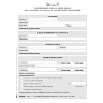 Modulo per conferimento/revoca deleghe fatt.elet. 29,7x21cm E0018 Edipro E0018 - Conf da 10 pz.