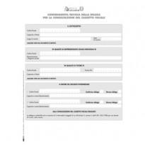 Modulo per conferimento/revoca deleghe cass.fisc. 29,7x21cm E0019 Edipro E0019 - Conf da 10 pz.