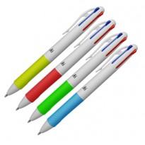 Penna sfera 4 colori 4 Multi 1,00mm OSAMA OW 10156 - Conf da 12 pz.