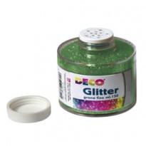 Barattolo glitter grana fine 150ml verde art.130/100 CWR 130/100/5