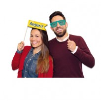 Photo Booth Buon Compleanno 8 fantasie Big Party 81462
