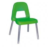 Sedia per bambini Piuma H35cm verde CWR 09387/03