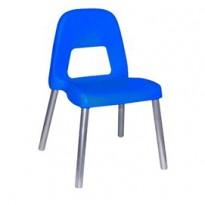 Sedia per bambini Piuma H35cm blu CWR 09387/04