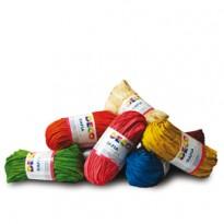 Confezione 10 pezzi Rafia colori assortiti CWR 04775