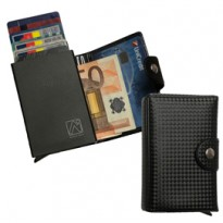 Portacard Wally Carbon 6x9,5cm Nero Alplast 1030SC/1