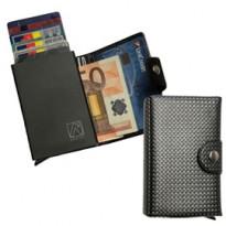 Portacard Wally Carbon 6x9,5cm Grigio Alplast 1030SC/2