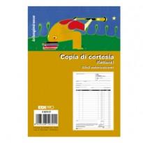 Blocco copia di cortesia (fatt.elett.) 33x3 autocop. 22x14,8cm E5272CT Edipro E5272CT - Conf da 10 pz.