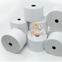 Rotolo carta termica BPA free 55gr neutra 57mmx100mt 90mm distrib self service FSRTEBPA5710012 - Conf da 24 pz.