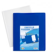 Conf 5 cartelle in pp personal cover blu 240x320mm Iternet 7151BL