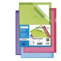 25 cartelline a L verde CAPRI 61 color sei rota 26316105